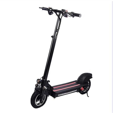 shewt Scooter eléctrico,Motor de 800 vatios, 30-45KM / H, Kilometraje 35-40KM,48V/15AH, batería y Pantalla de Velocidad, Inflable de Neumático ...