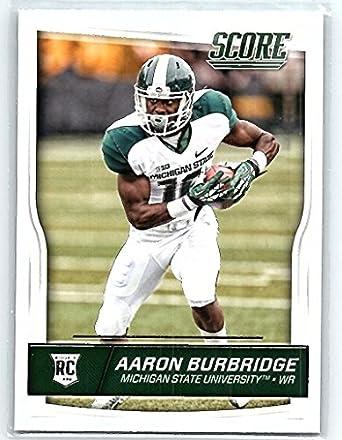 finest selection ff4c0 066c5 Amazon.com: 2016 Score Rookies #377 Aaron Burbridge RC ...
