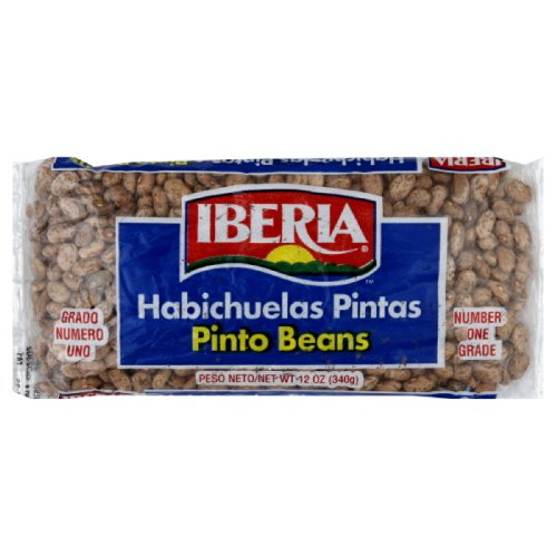 Iberia Pinto Bean, 12-Ounce (Pack of 24) by Iberia