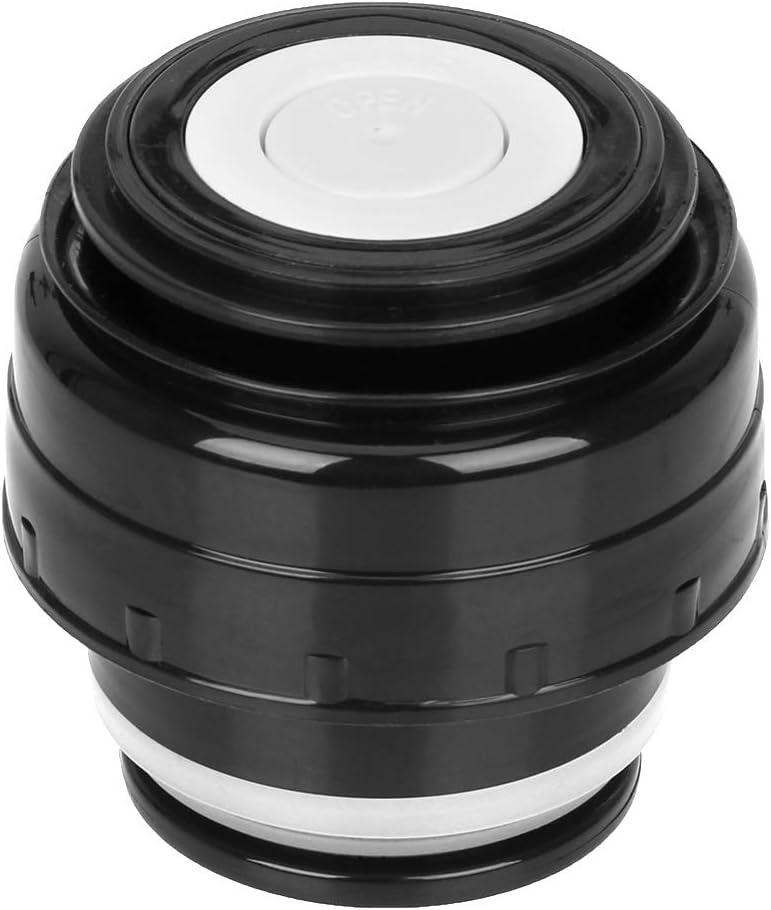 Becher Zubeh/ör Auslauf Isolierflasche Tassendeckel grau 5,2 cm Thermosabdeckung Runy Edelstahl-Thermosflasche Deckel f/ür Outdoor-Reise