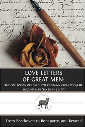 Love letters book in sex and the city