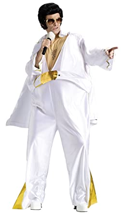 Fun World Funny Overweight Fat Elvis Presley Halloween Costume  sc 1 st  Amazon UK & Fun World Funny Overweight Fat Elvis Presley Halloween Costume ...