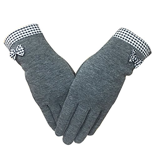 Womens Running Touchscreen Winter Warm Gloves,iPhone Gloves, Texting Gloves for Smartphones