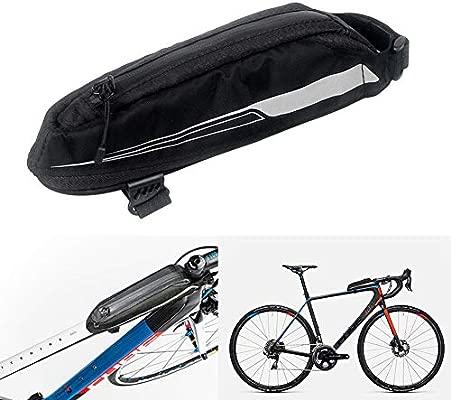 ggaggaa 0.4L Bolsa de Marco Frontal Bicicleta de montaña Bicicleta ...
