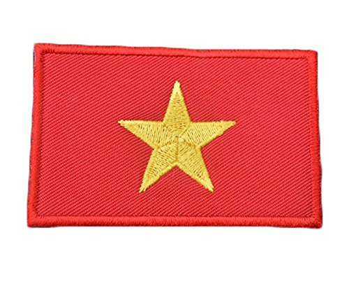Embroidery Each Country's Flag Patch (3''X2'', Viet