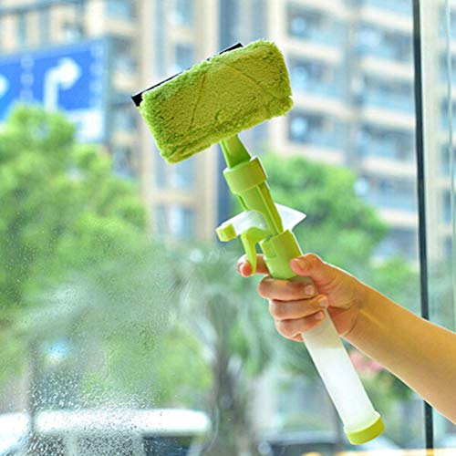 (Glass Wiper - Spray Water Brush Cleaner Glass Cleaning Wiper Window Simple Life Multifunction Home - Glass Wiper Blade Brush Windows Shower Bathroom Squeegee Cleaning Cleaner)
