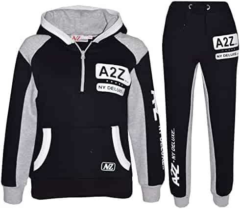 Girls Tracksuit Kids Designer/'s Pedal Power Jogging Suit Top /& Bottom 5-13 Years