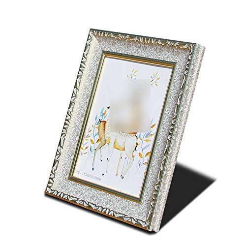 Classic Photo Frame Painting Frame Creative Home Art Decor Gifts Vintage Desktop Photo Frame for Pictures 6