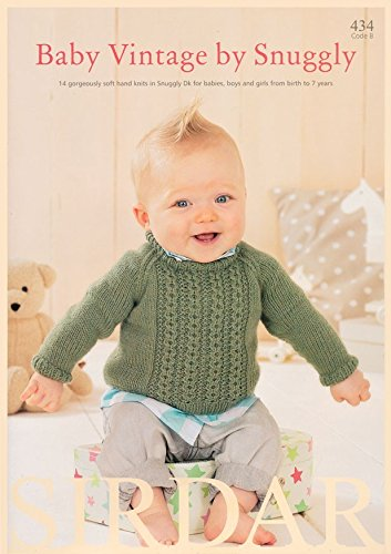 Sirdar Baby Vintage by Snuggly 434 Knitting Pattern Book DK