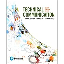 Technical Communications, Seventh Canadian Edition Plus MyLab Writing with Pearson eText -- Access Card Package (7th Edition)