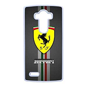 LG G4 Phone Case White Ferrari ZKH9386499