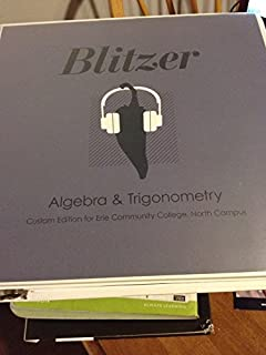 Algebra and trigonometry 5th edition robert f blitzer algebra trigonometry 5th edition ecc north campus edition fandeluxe Choice Image
