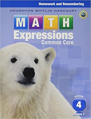 Math expressions homework remembering volume 2 grade 4 houghton math expressions homework remembering volume 2 grade 4 1st edition fandeluxe Images