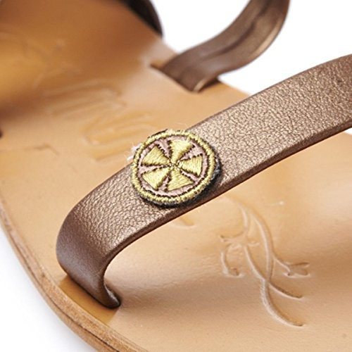 Roma Leather Sandals (7 (UK)) YuioESB