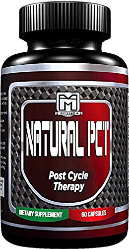 PCT Post Cycle Therapy Supplement - Liver support blend** | Testosterone support blend** | Estrogen blocker formula** | Advanced Natural Cycle Assist | 60 capsules by MEGATHOM