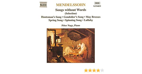 Romances sans paroles: Peter Nagy, Felix Mendelssohn: Amazon.es ...