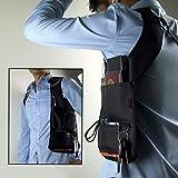 OSAYESTheft Armpit Cross-Package Security Holster Strap Messenger Bags Underarm Phone Burglarproof