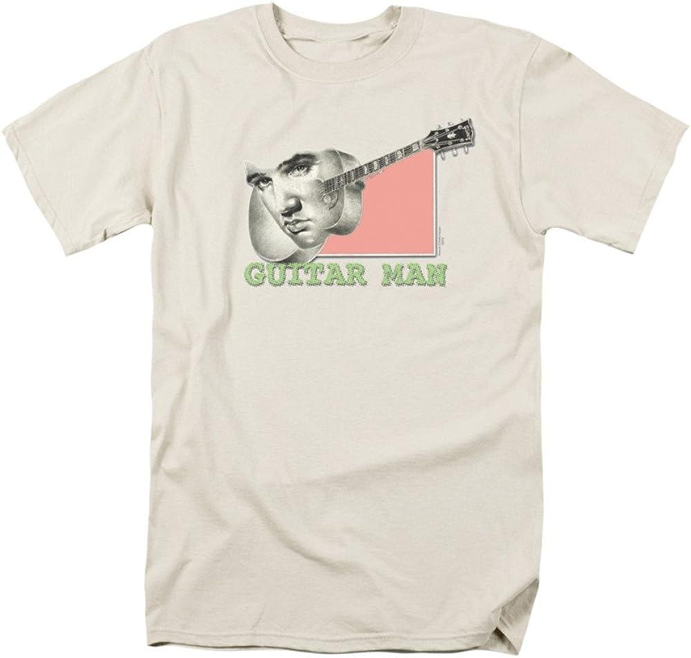 ELVIS PRESLEY Singer Rock Music Icon Guitarra Hombre Cara En ...