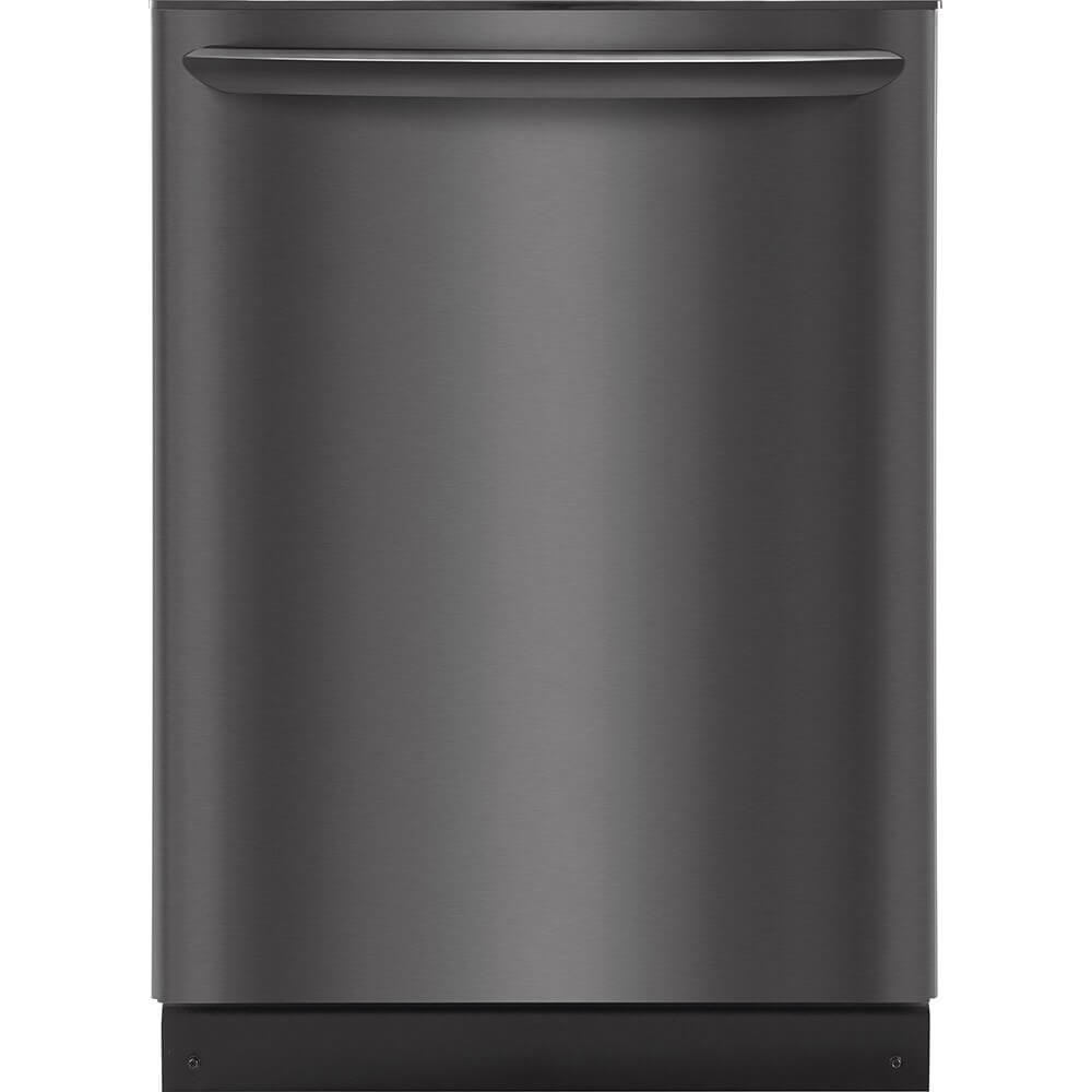 "Frigidaire FGID2466QD 24"" Gallery Series Built In Fully Integrated Dishwasher with 8 Wash Cycles, in Black"