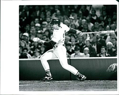 Vintage Photos 1988 Press Photo Sports Mike Greenwell Boston Red Sox Major Baseball Player 8x10 - Boston Players Sox Baseball Red