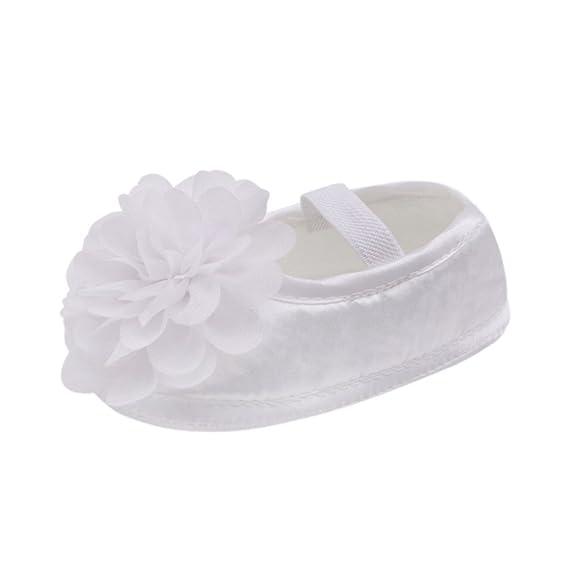Zapatos para Bebé Niña Pequeña Gasa Flor Banda Elástica Recién Nacido Sandalias para Caminar ❤️Zapatos de ️️Lonshell: Amazon.es: Ropa y accesorios