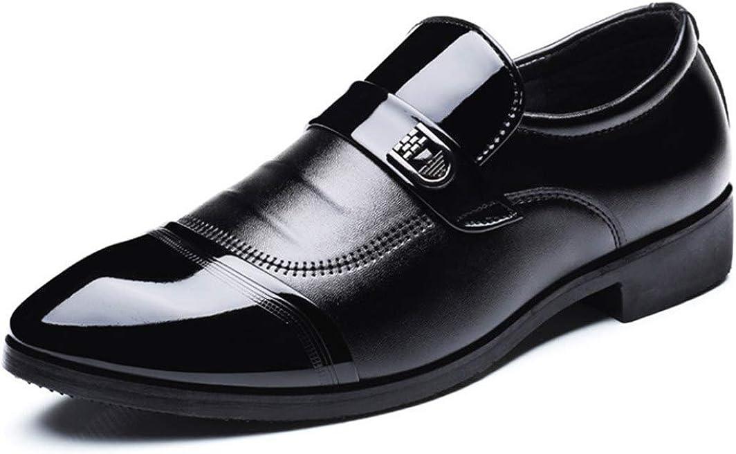 Zapatos Formales de Hombre Zapatos de Oficina de Cuero Calzado Masculino de Negocios Zapatos de Trabajo Zapatos de Derby