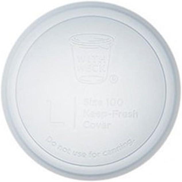 ガラスキャニスター専用 WECK SILICONE CAP シリコンキャップ [ クリア / Lサイズ ] WW-022