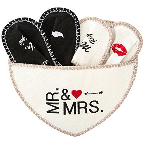 """Levivo Hausschuhe """"Mr. & Mrs."""