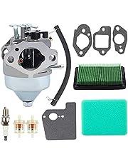 GCV190 Carburetor Fit for Honda GCV190 GCV190A GCV190LA Engine HRB217 HRX217 HRX217K1 HRX217K2 Lawn Mower 16100-Z0Y-813 16100-Z0Y-853 Carb with Air Filter Tune Up Kit