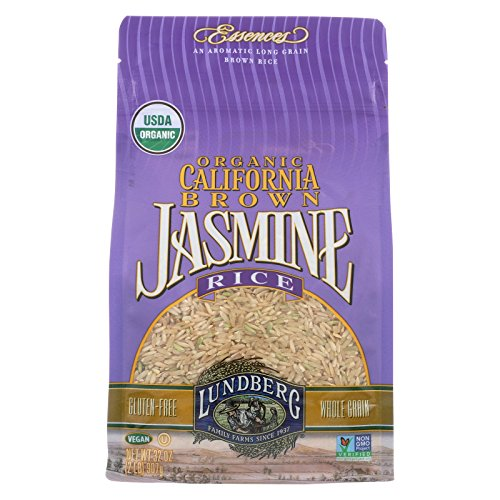 Lundberg Family Farms Brown Jasmine Rice - Case of 6 - 2 lb. by Lundberg