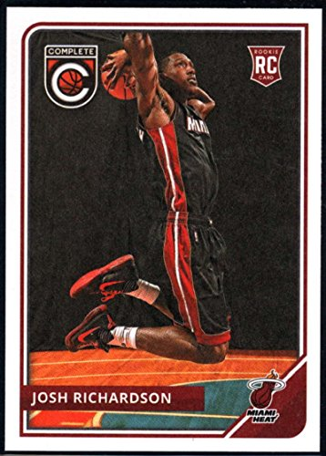 2015-16 Complete Basketball #291 Josh Richardson Miami Heat Official NBA RC Rookie Card made by Panini