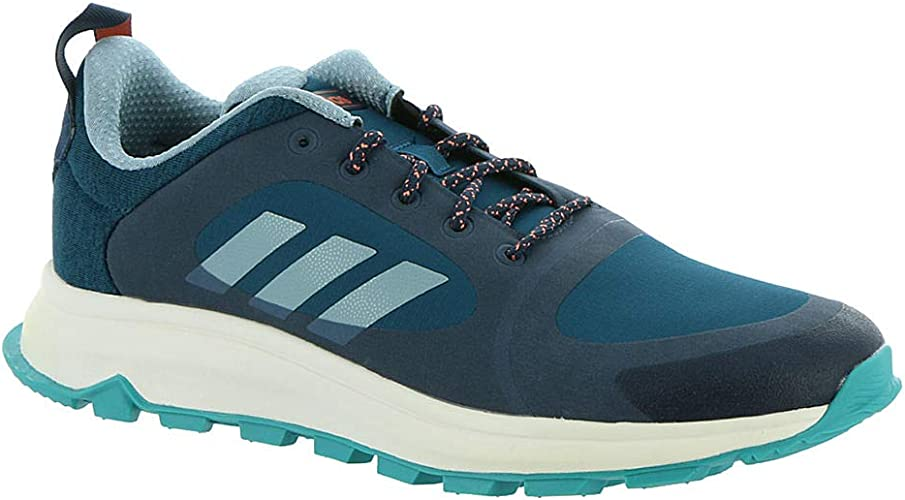 adidas Running Womens Response Trail X Wide Trace Blue/Ash Grey ...
