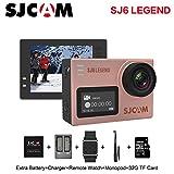 Original SJCAM SJ6 Legend 4K 30fps HD 1080P Action Camera 2.0'' Touch Screen Waterproof Remote Sport DV Camera (Rose Gold)
