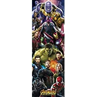 Grupo Erik Editores ppge8048–poster avengers infinity guerre Marvel Thanos, 53 x 158 cm