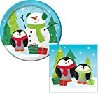Best Creative Converting Friends Plates - Christmas Party Frozen Friends Dessert Plates And Napkins Review