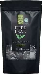 Pure Leaf Green Tea with Jasmine, Non-enveloped, 50 Pyramid Tea Bags