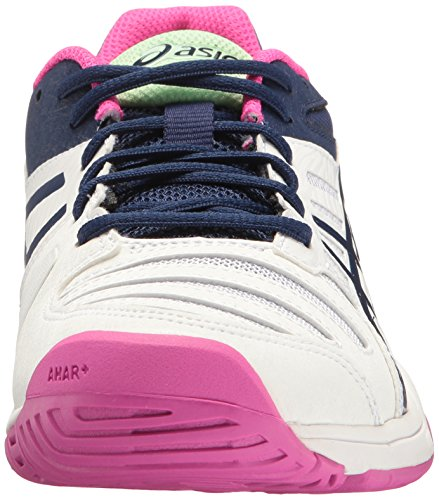 ASICS Frauen Gel-Solution Slam 3 Tennisschuh Weiß / Indigo Blue / Pink Glow
