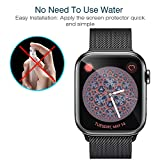 LK [6 Pack] Screen Protector for Apple Watch 40mm