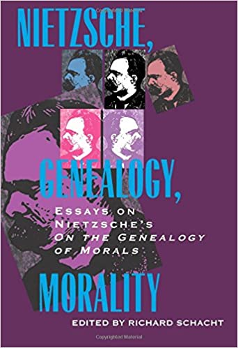 nietzsche genealogy morality essays on nietzsche s on the  nietzsche genealogy morality essays on nietzsche s on the genealogy of morals philosophical traditions richard schacht 9780520083189 com