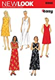 New Look Sewing Pattern 6866 Misses' Dresses, Size A
