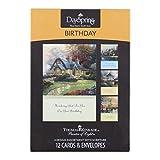 Thomas Kinkade - Birthday Inspirational Boxed Cards - Birthday Blessings