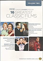 TCM VOLUME TWO - 16 GREATEST CLASSIC FILMS