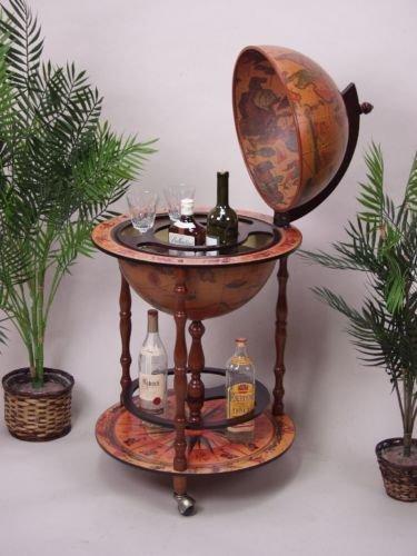 Mesa auxiliar con ruedas Globusbar mesa bebidas carrito con ruedas: Amazon.es: Hogar