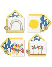 بطاقات بردي فارغة مع مغلفات ، علبة صغيرة من سعيد (عدد 20) - 5228239 20-Count