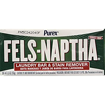 Dial Corp. 04303 Fels-Naptha Laundry Bar Soap (Pack of 8)