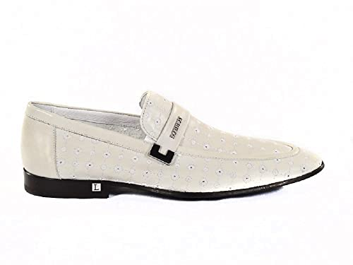 Italian Men 2320 Loriblu White ShoesAmazon Designer Summer Leather dreBWCoQx