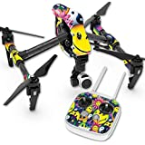 Skin For DJI Inspire 1 Quadcopter Drone – Peace Smile | MightySkins Protective, Durable, and Unique Vinyl Decal wrap cover | Easy To Apply, Remove, and Change Styles | Made in the USA