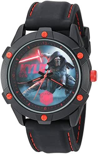 Star Wars Boy's Quartz Plastic Casual Watch, Color:Black (Model: SW7AQ073)