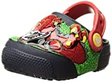 Crocs Kids' Fun Lab Light-up Boys Graphic Clog, Robosaur Rex, 11 M US Little Kid