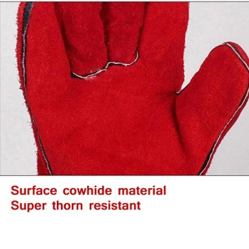Charming ... HMLifestyle Cowhide Leather Gardening Gloves LongPerfect Rose Garden